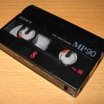 Lecteur Cassette 8Mm Video